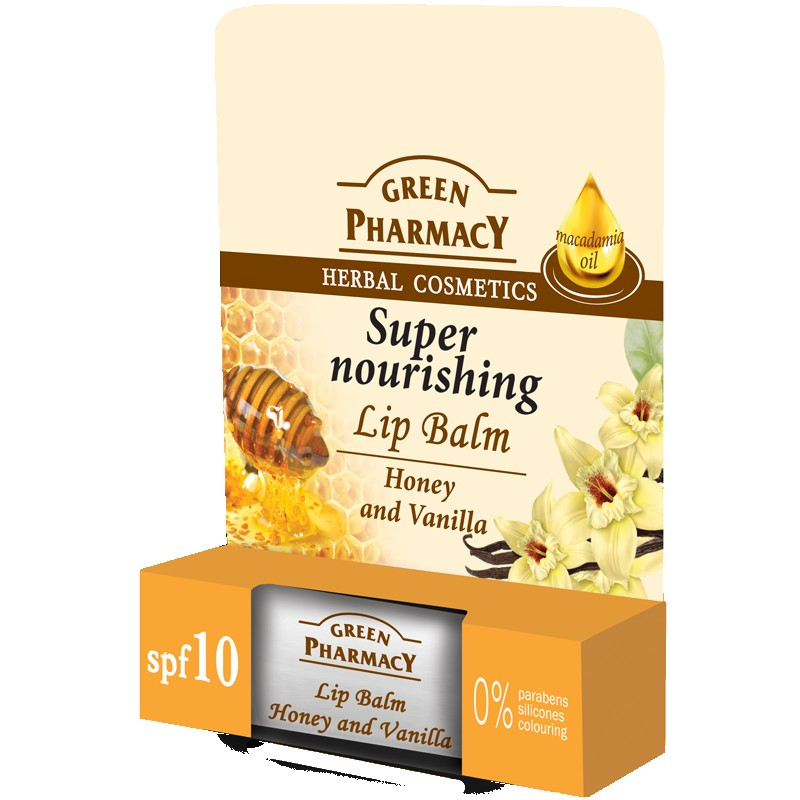 Green Pharmacy Super Nourishing Honey & Vanilla Lip Balm