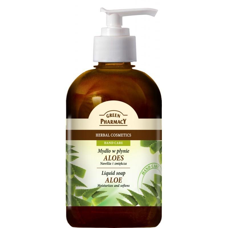 Green Pharmacy Aloe Liquid Soap