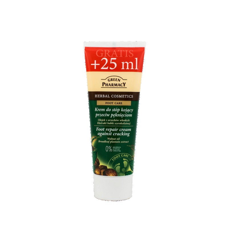 Green Pharmacy Foot Repair Cream Against Cracking