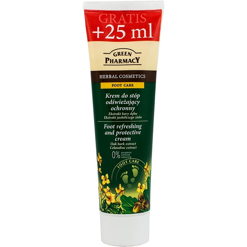 Green Pharmacy Foot Refreshing & Protective Cream