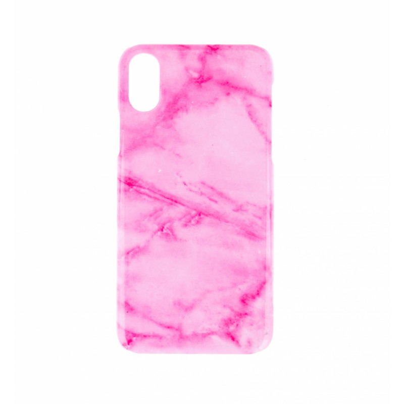 BasicsMobile Pink Marble iPhone X/XS Cover
