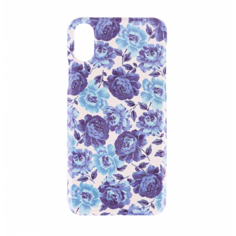 BasicsMobile Baby Blue Roses iPhone X/XS Cover