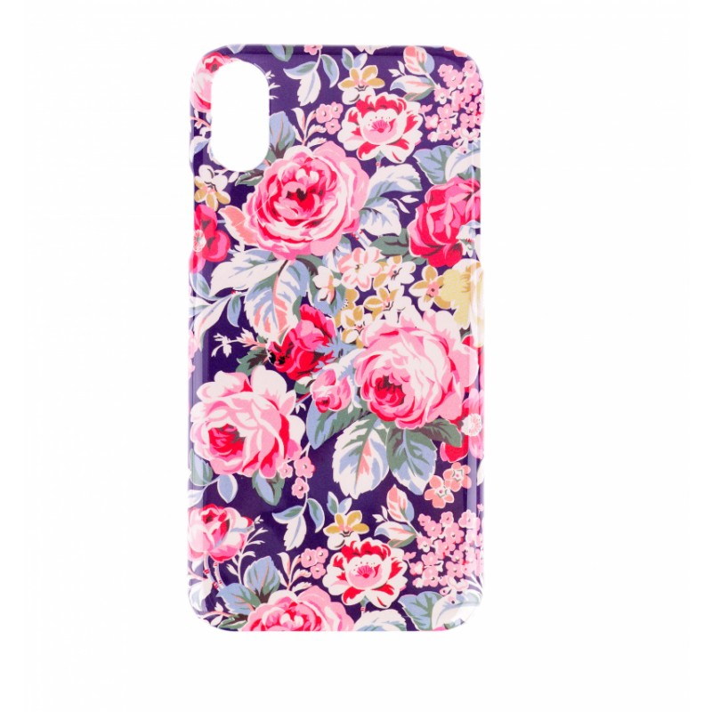 BasicsMobile Bouquet Of Vintage Flowers iPhone X/XS Cover