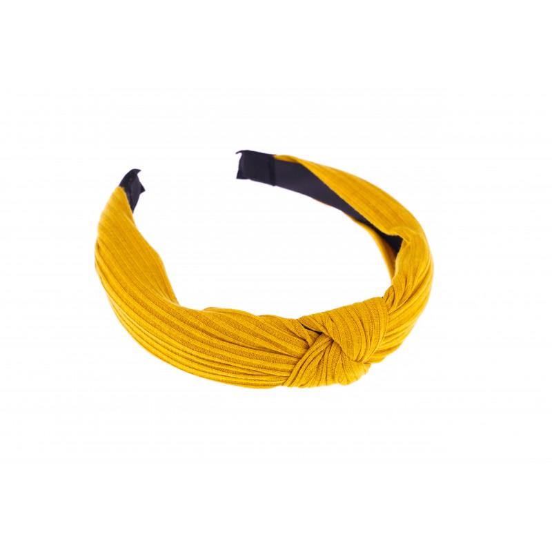 Basics Mustard Ribbed Headband