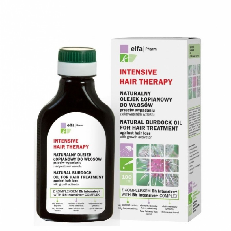 Elfa Pharm Natural Burdock Oil Hair Treatment Hair Loss