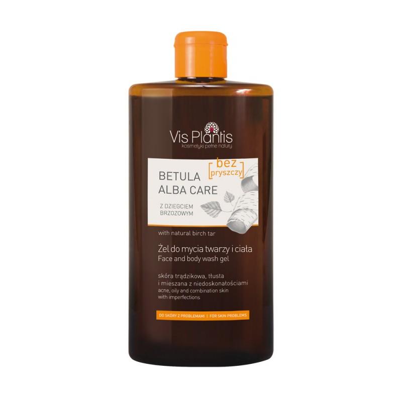 Vis Plantis Betula Alba Care Face & Body Wash Gel