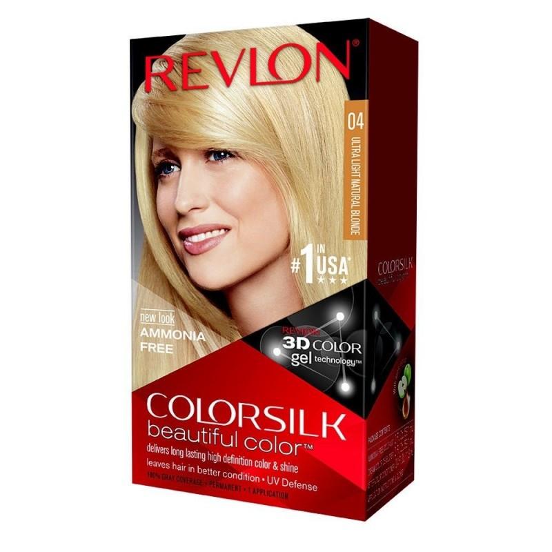 Revlon Colorsilk Permanent Haircolor 04 Ultra Light Natural Blonde