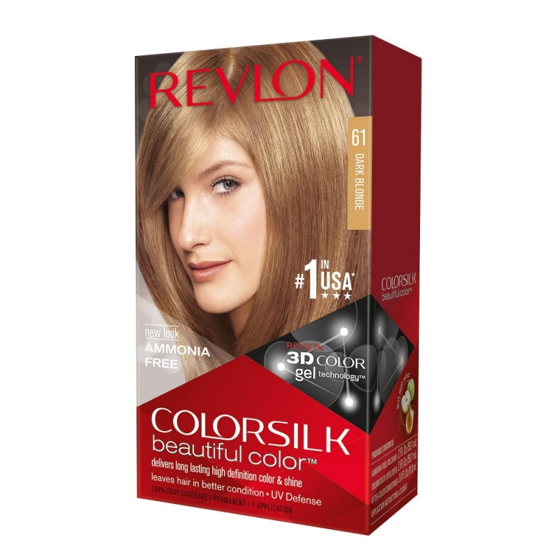 Revlon Colorsilk Permanent Haircolor 61 Dark Blonde