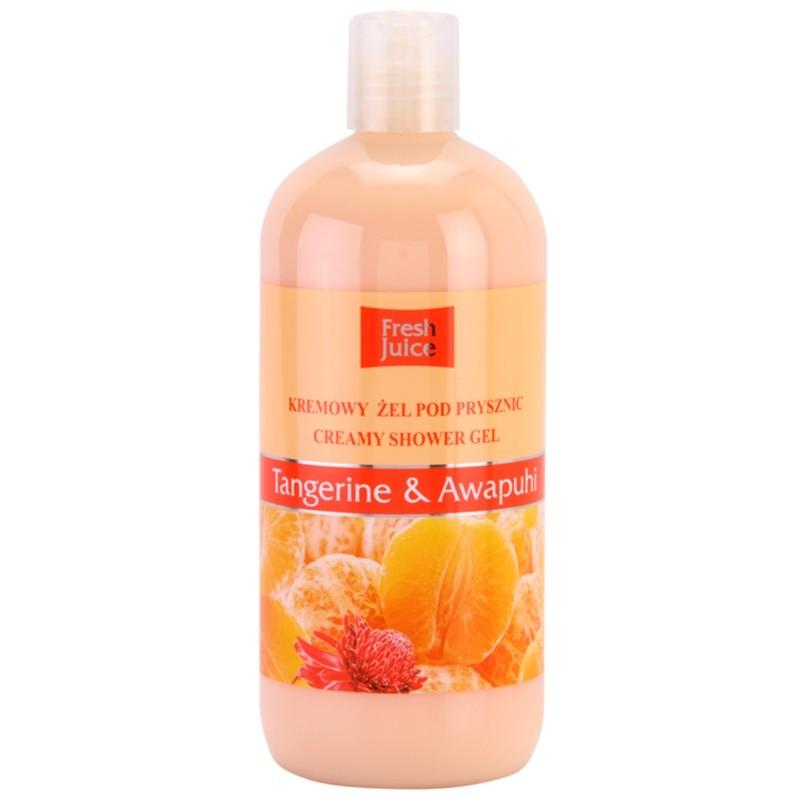Fresh Juice Tangerine & Awapuhi Shower Gel