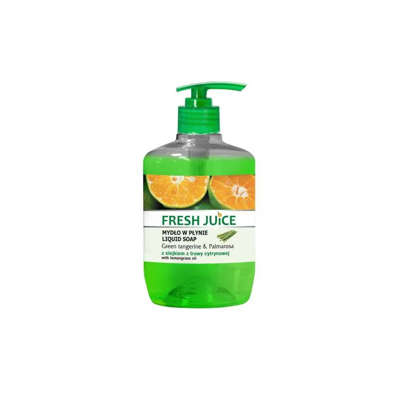 Fresh Juice Green Tangerine & Palmarosa Liquid Soap