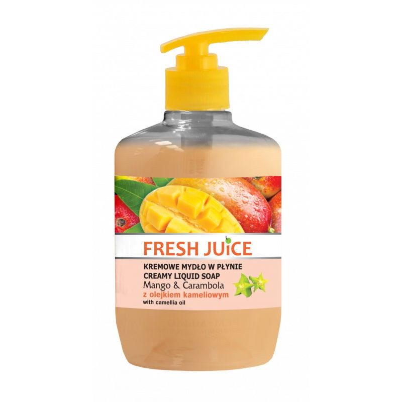 Fresh Juice Mango & Carambola Liquid Soap