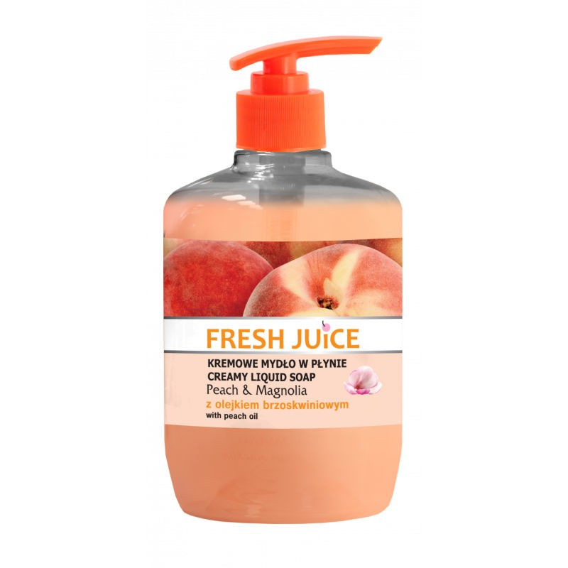 Fresh Juice Peach & Magnolia Liquid Soap