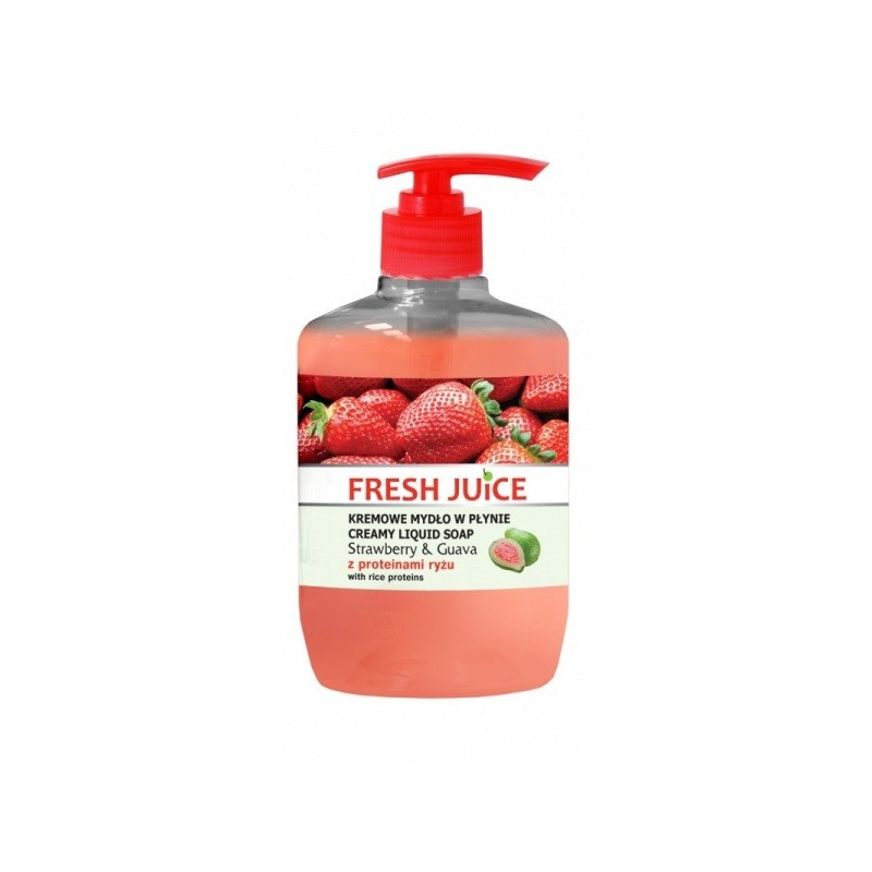 Fresh Juice Strawberry & Guava Liquid Soap