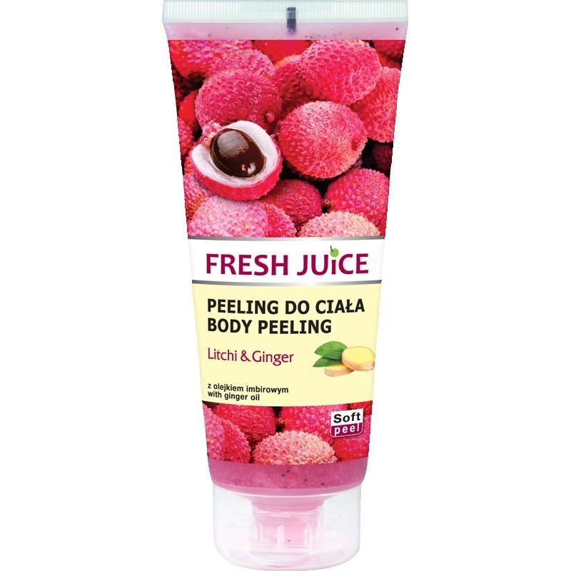 Fresh Juice Litchi & Ginger Body Scrub