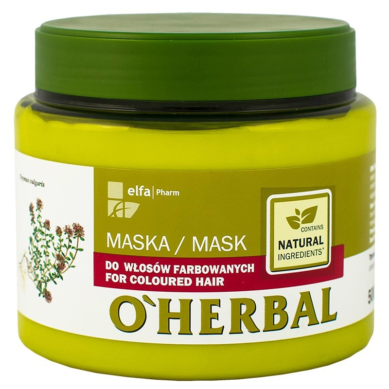 O'Herbal Coloured Hair Thyme Extract Hair Mask