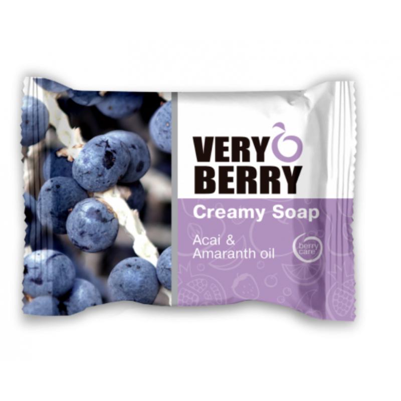 Very Berry Acai & Amaranth Oil Creamy Soap