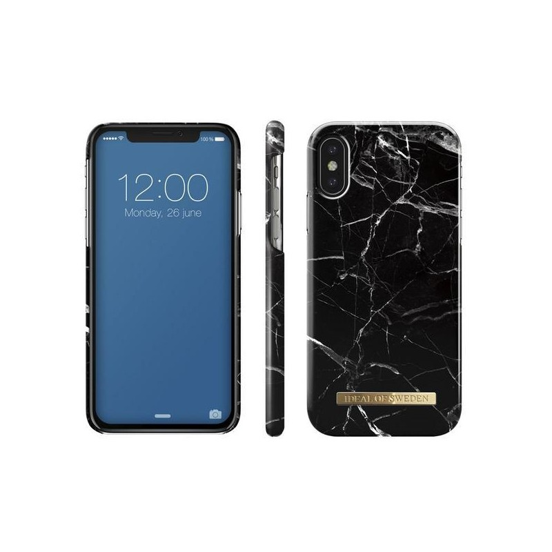 iDeal Of Sweden Fashion Case iPhone XS Max Black Marble