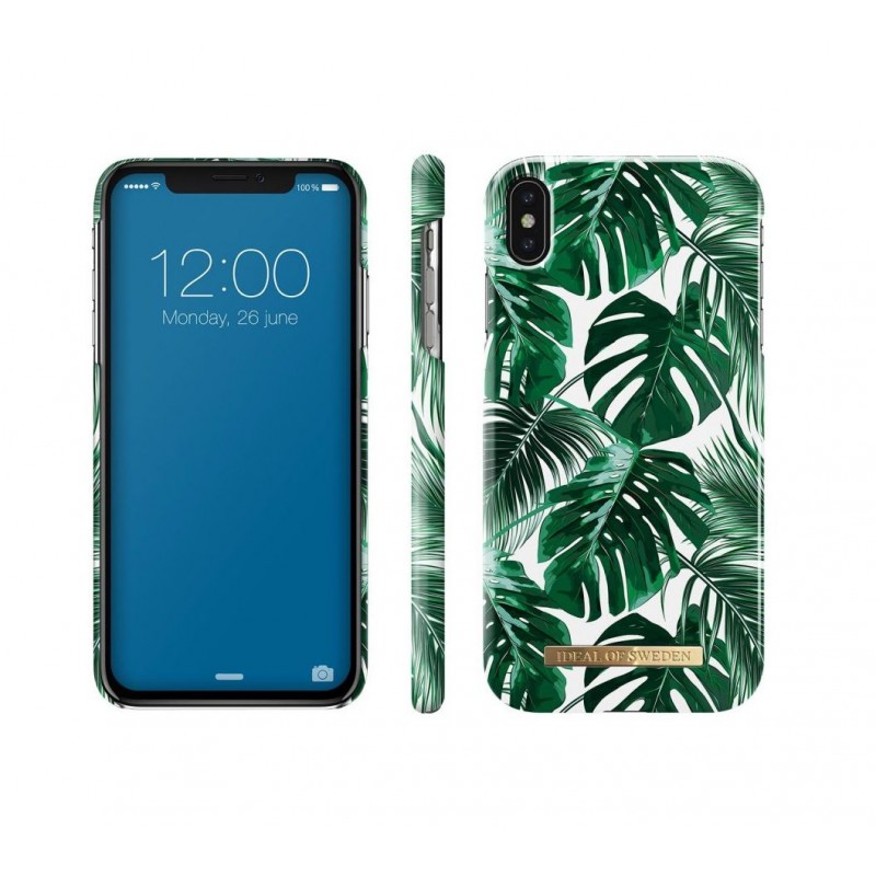 iDeal Of Sweden Fashion Case iPhone XS Max Monstera Jungle