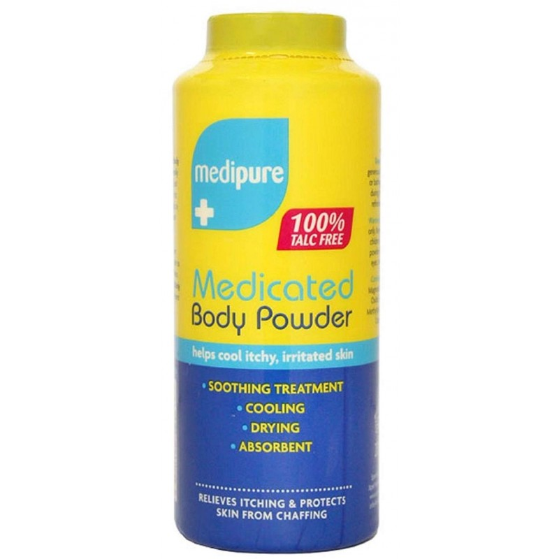 Medipure Medicated Body Powder Talc Free