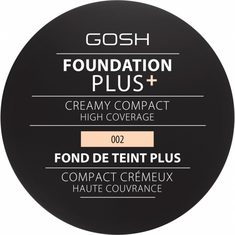 GOSH Foundation Plus Creamy Compact 002 Ivory