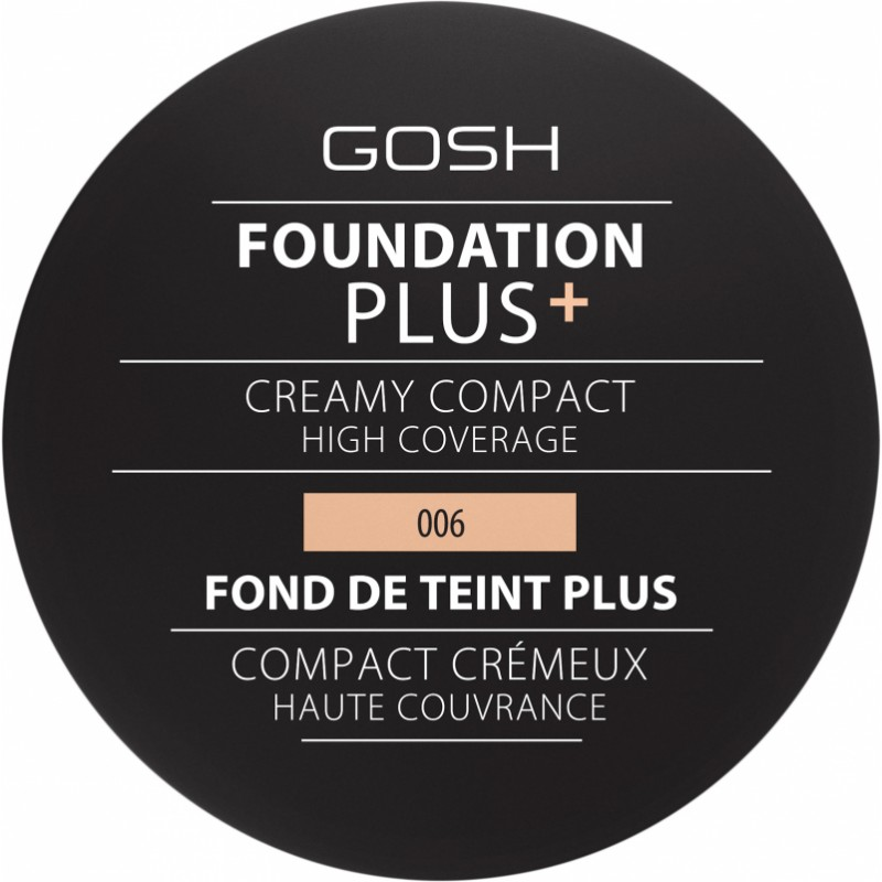GOSH Foundation Plus Creamy Compact 006 Honey