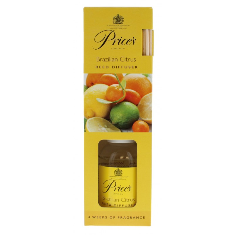 Price's Reed Diffuser Brazilian Citrus