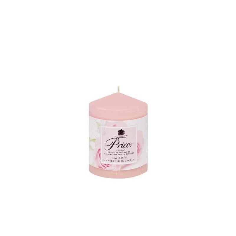 Price's Scented Pillar Candle Tea Rose