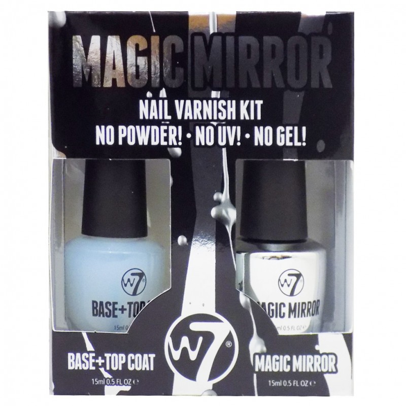 W7 Magic Mirror Nail Varnish Kit