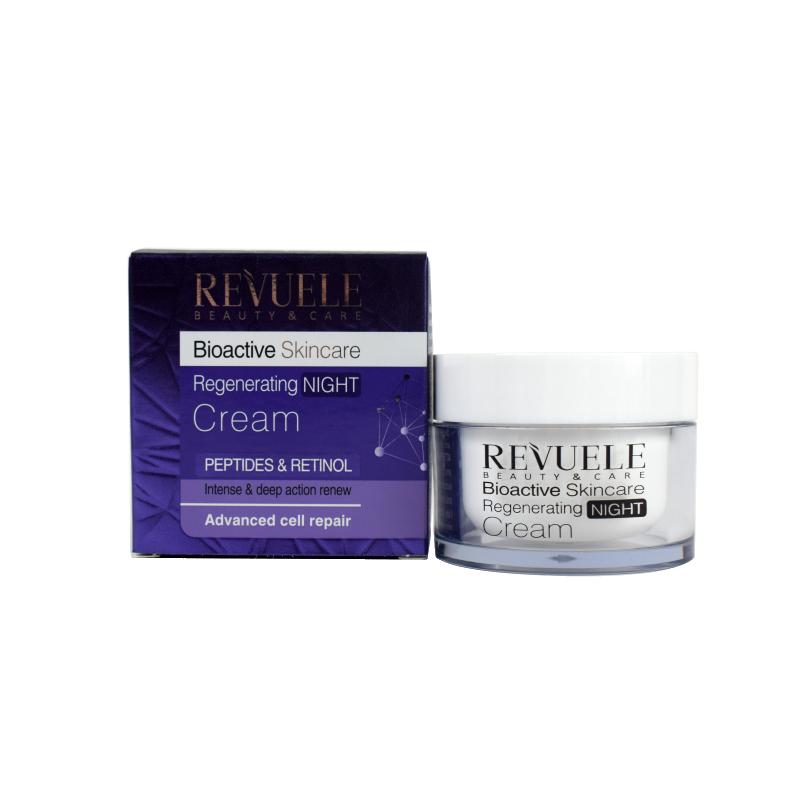 Revuele Bioactive Skin Care Peptides & Retinol Night Cream