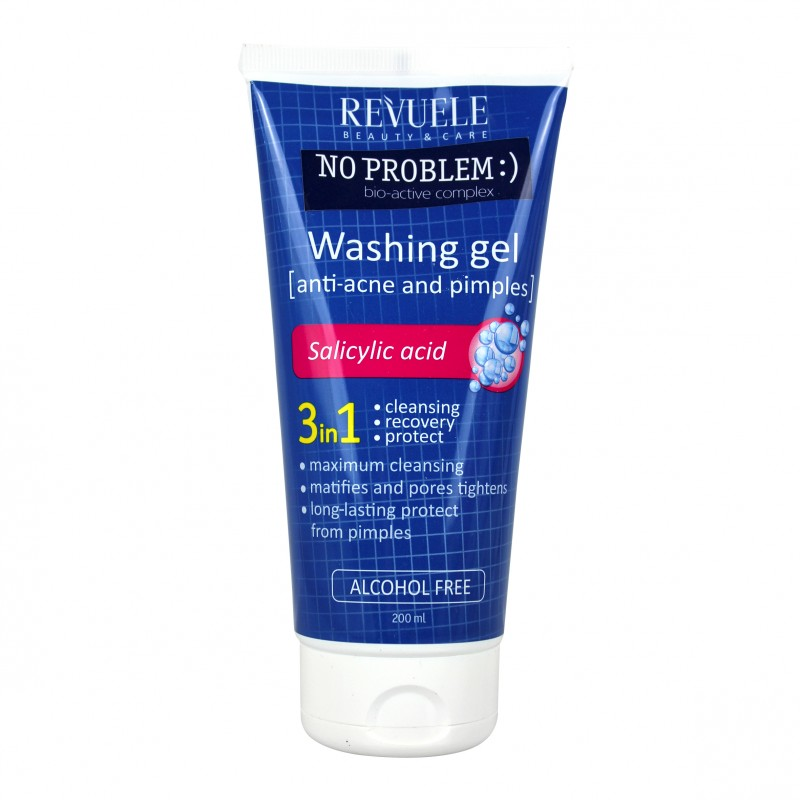 Revuele No Problem Washing Gel Salicylic Acid