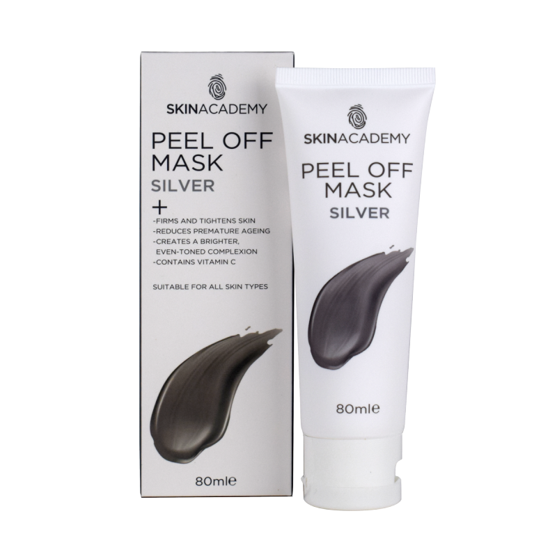 Skin Academy Peel Off Mask Silver