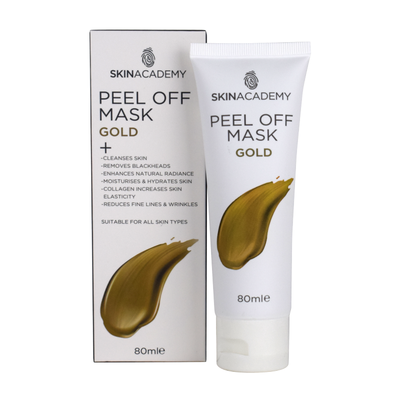 Skin Academy Peel Off Mask Gold