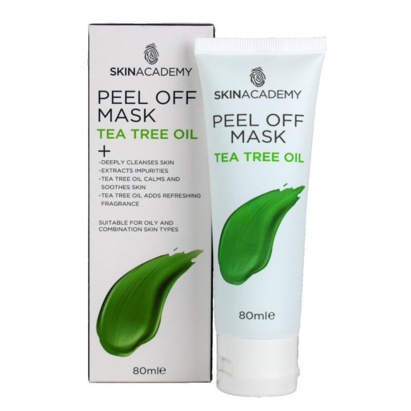 Skin Academy Peel Off Mask Tea Tree Oil