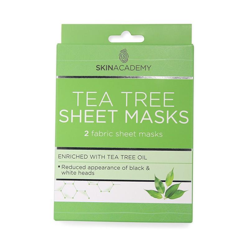 Skin Academy Tea Tree Sheet Masks