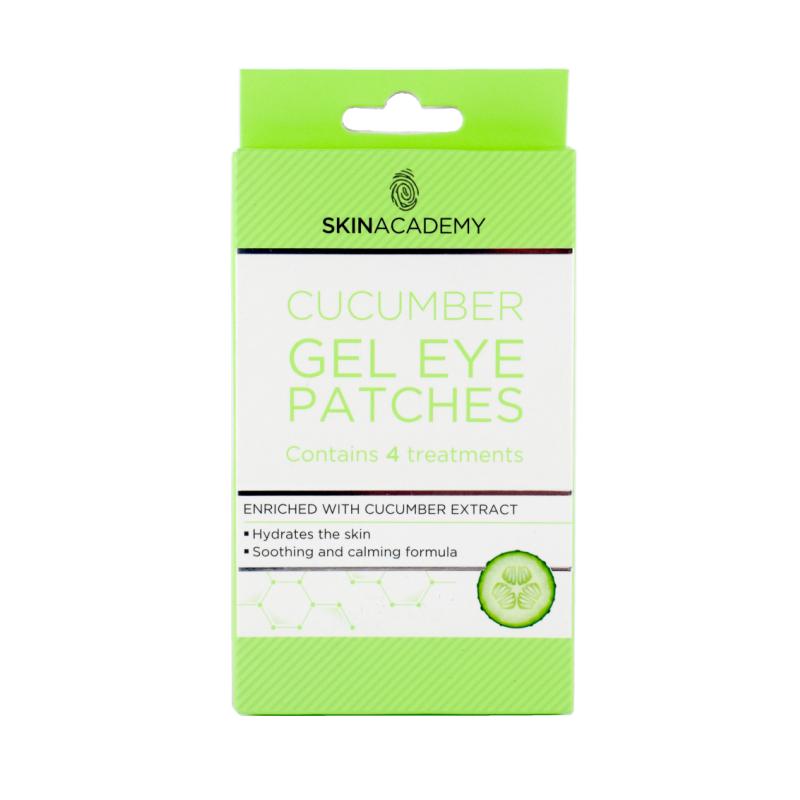 Skin Academy Cucumber Gel Eye Patches