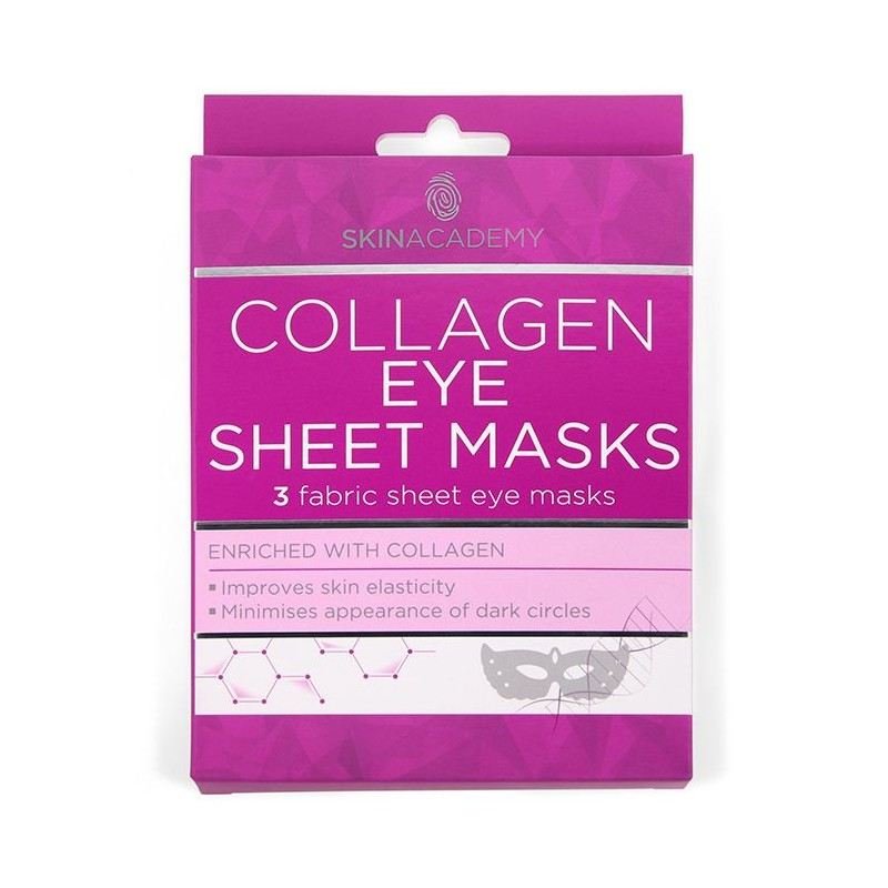 Skin Academy Collagen Eye Sheet Masks