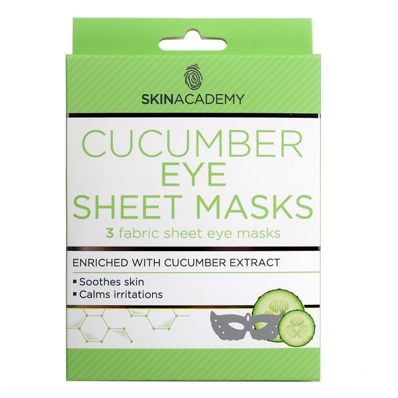 Skin Academy Cucumber Eye Sheet Masks