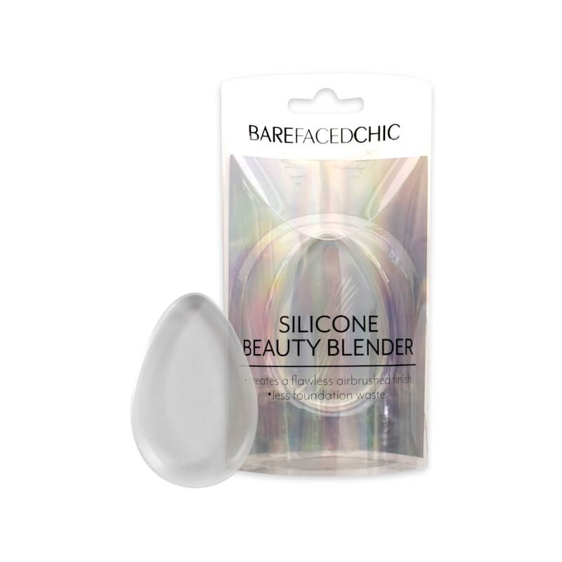 Bare Faced Chic Silicone Teardrop Beauty Blender