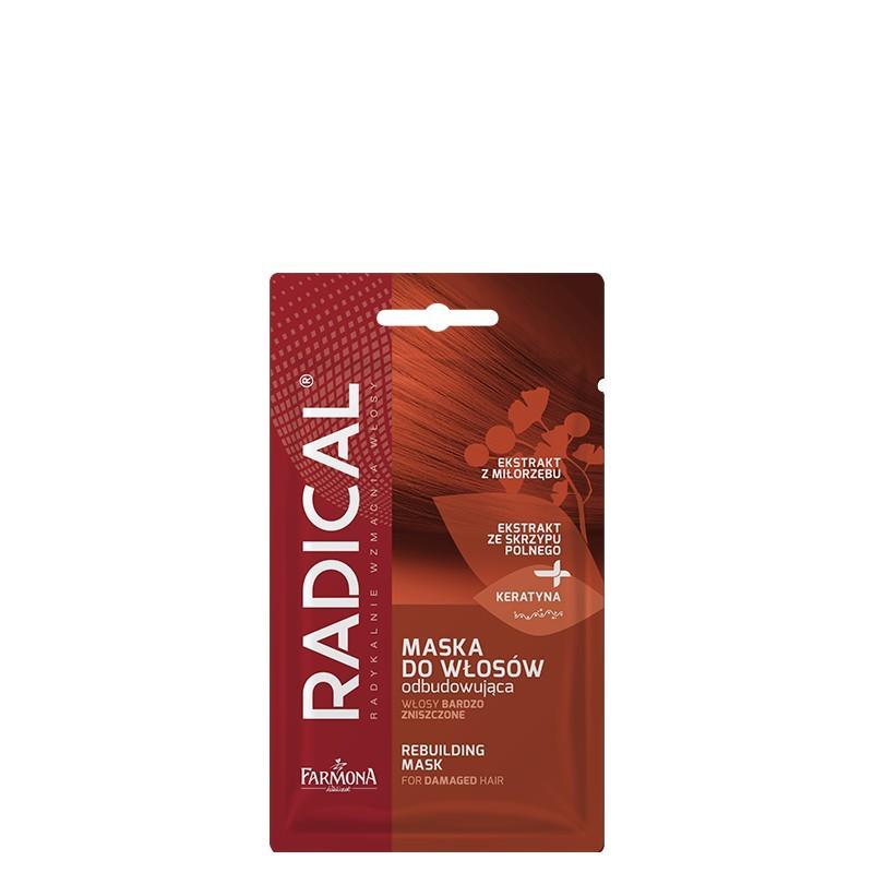 Radical Rebuilding Mask Damaged Hair
