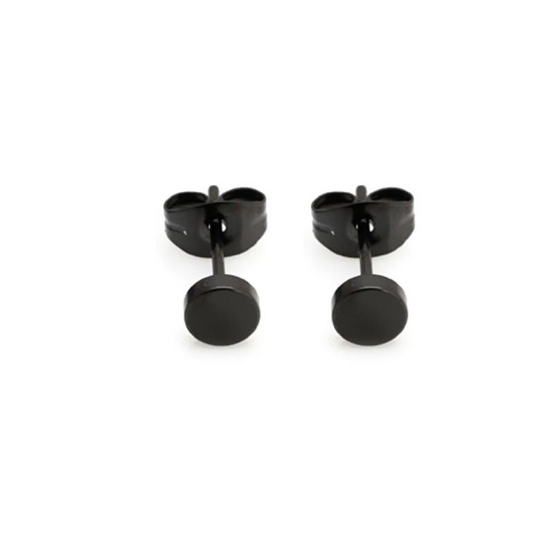 Everneed Dots Earrings Black