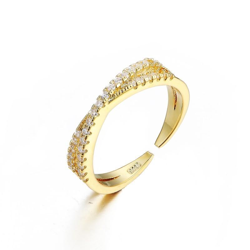 Everneed Mary Guld Zirconia Ring