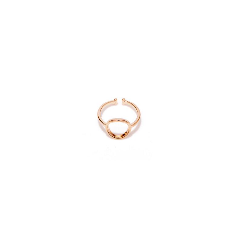 Everneed Mia Rose Gold Circle Ring