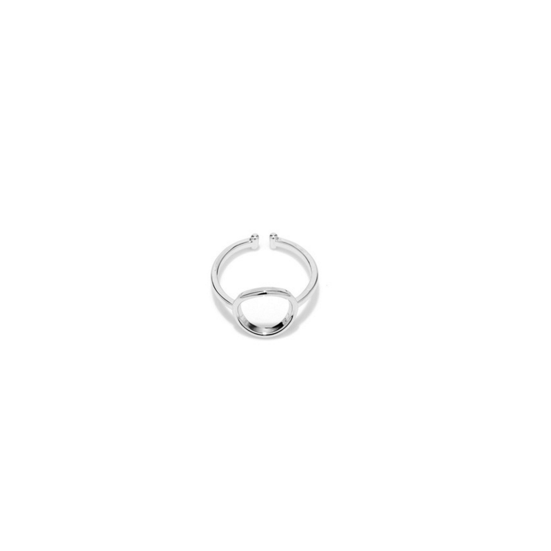 Everneed Mia Sølver Cirkel Ring