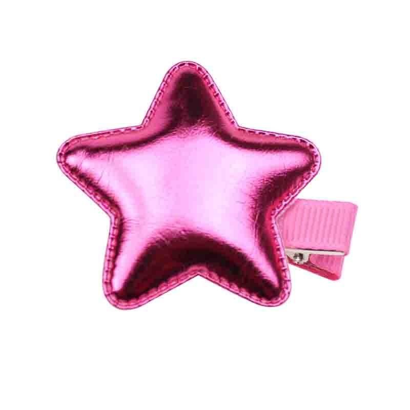 Everneed Ella Metallic Pink Stjernespænde