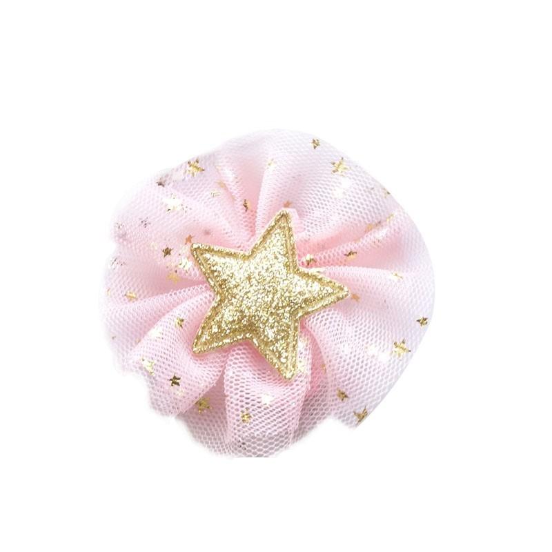 Everneed Little Stars Hiusklipsi Vaaleanpinkki 6,5 cm
