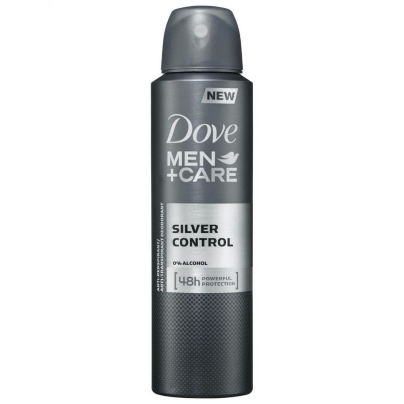 Dove Men +Care Silver Control Deospray
