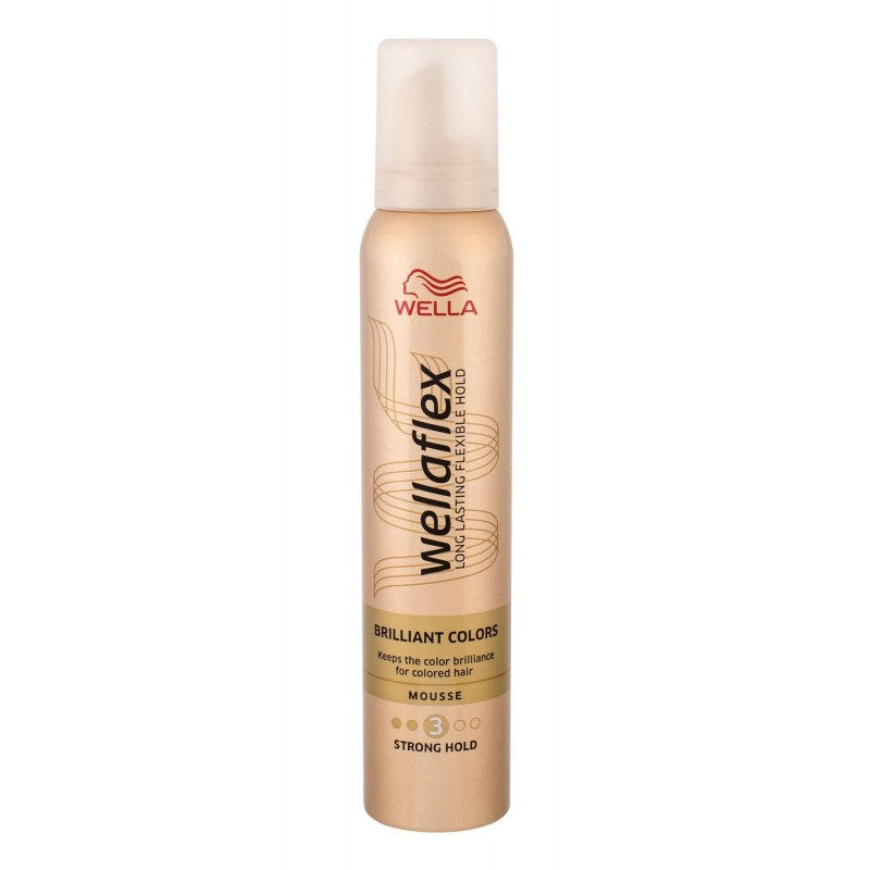 Wella Wellaflex Brilliant Colors Strong Hold Mousse