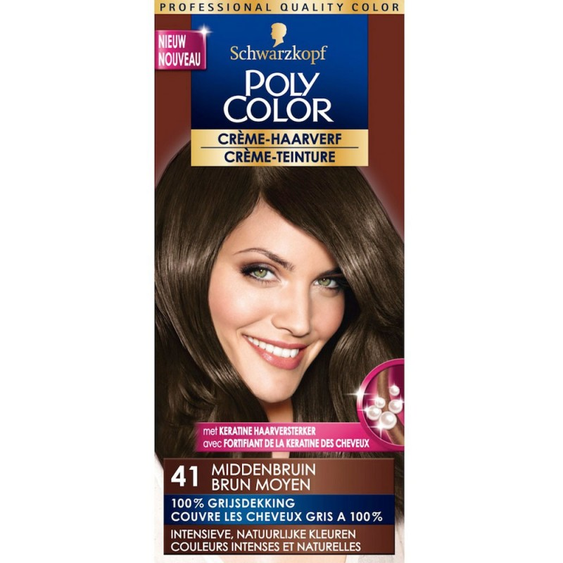 Schwarzkopf Poly Color 41 Medium Brown