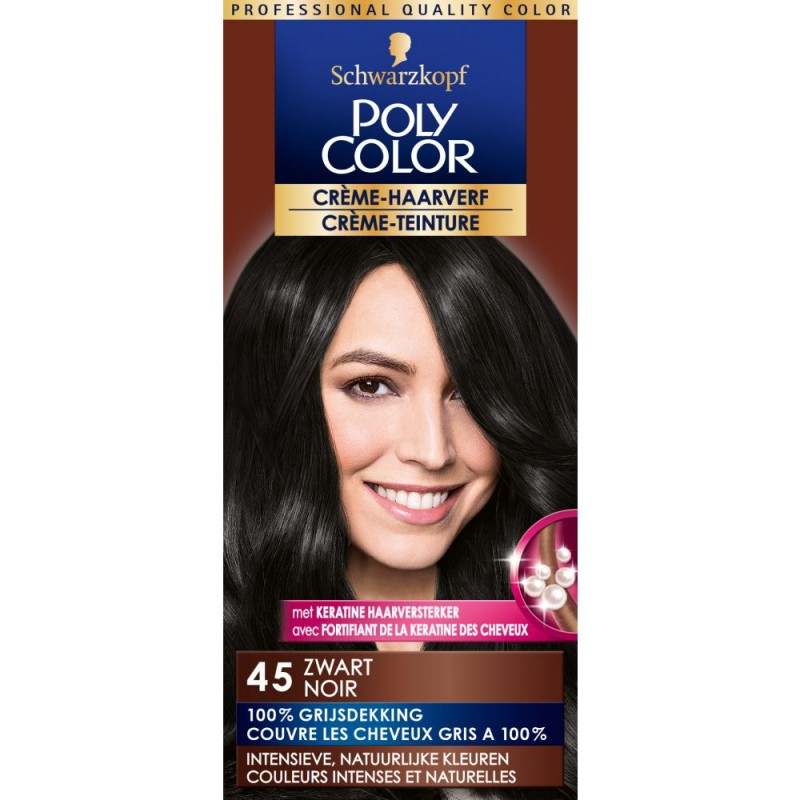 Schwarzkopf Poly Color 45 Black