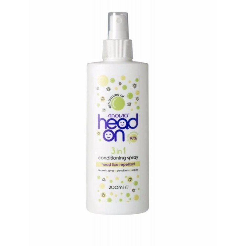 Anovia Head On 3in1 Head Lice Conditioning Spray